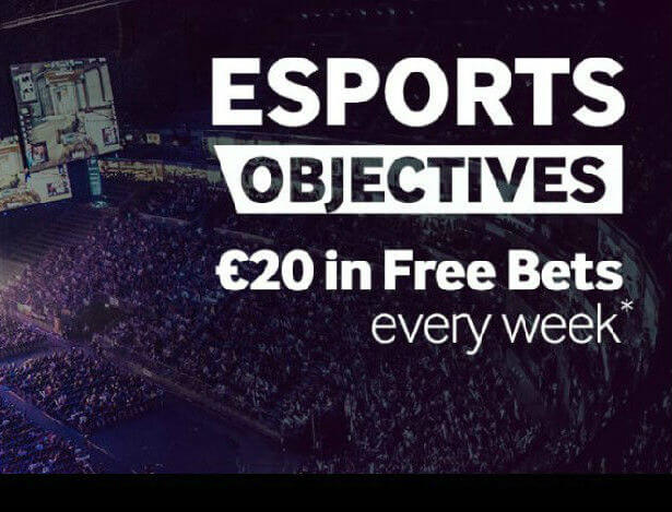 Betway eSports in-play