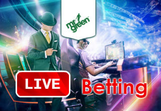 Live betting opportunities at Mr Green