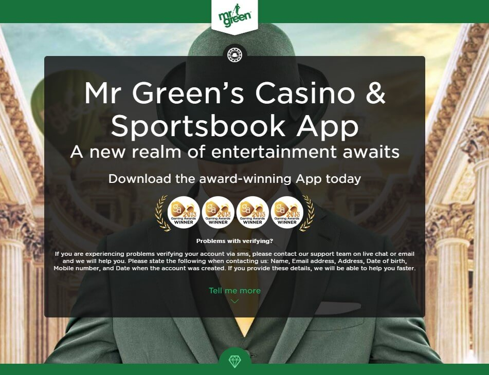 Application, available to users for betting